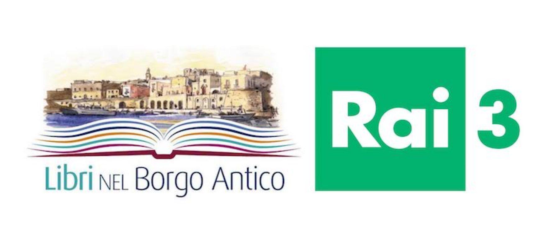 """""""Libri nel Borgo Antico"""" in onda sulla Rai con uno spot"""