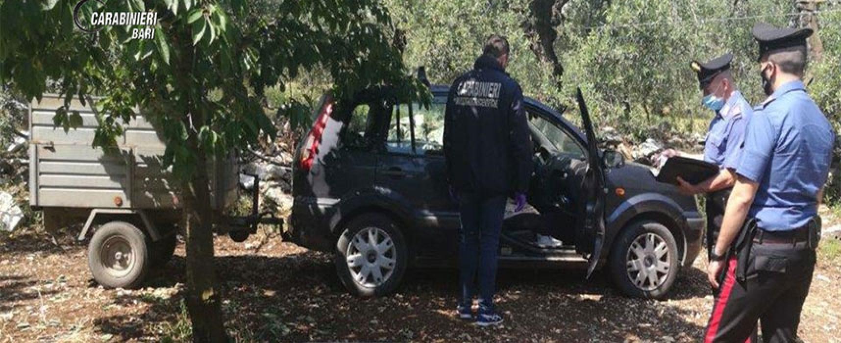 Ruba auto ad agricoltore biscegliese e chiede denaro per la restituzione, arrestato