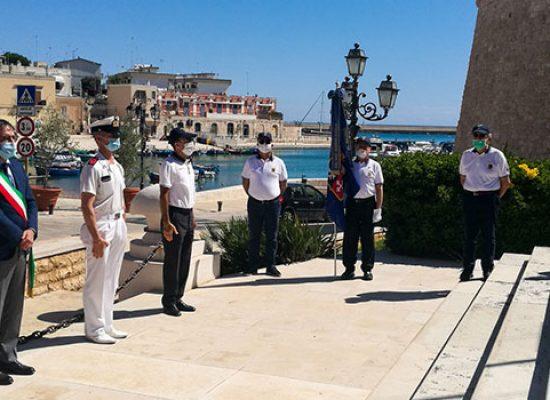 """Festa Marina Militare, Angarano: """"Pensiero a biscegliesi che hanno perso la vita"""""""