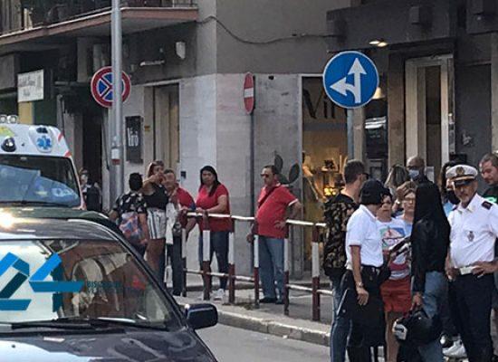 Incidente in via Imbriani, ferito 19enne biscegliese