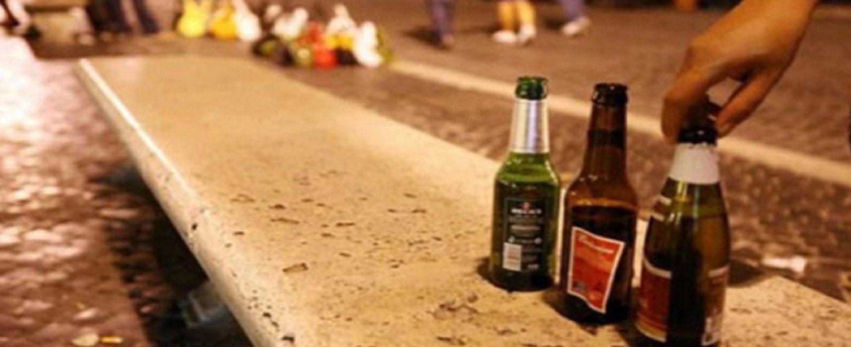 Divieto di vendita di bottiglie di vetro per asporto e sanzioni per titolari e clienti / L'ORDINANZA