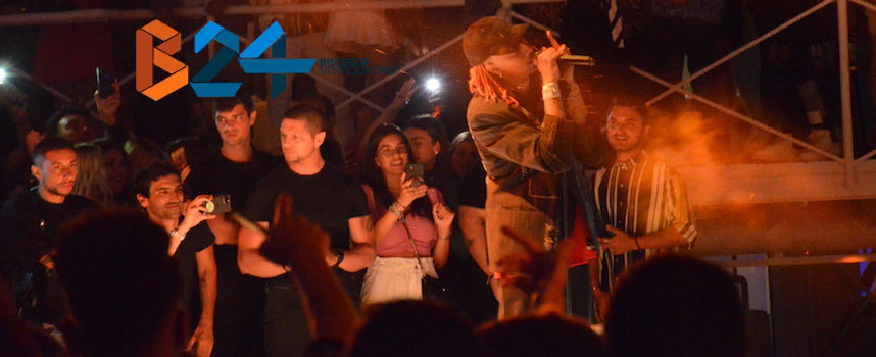 Ghali live al DF accompagnato dal dj Davide Dev nel club da cui tutto è cominciato / FOTO