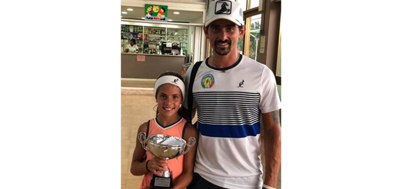 Tennis, la biscegliese Federica Cassanelli campionessa regionale Under 11