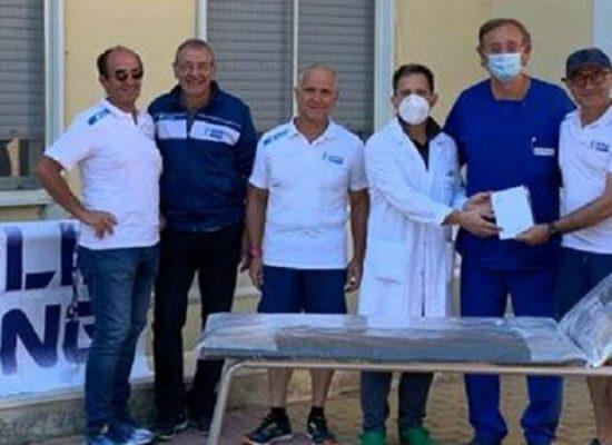 Donazione Bisceglie Running al reparto Pediatria dell'ospedale cittadino