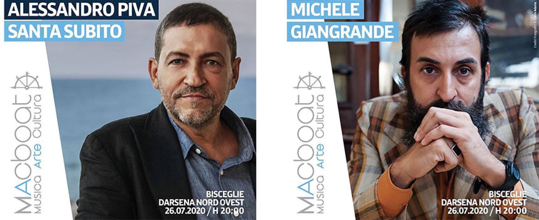 MACboat, Alessandro Piva e Michele Giangrande protagonisti a Bisceglie