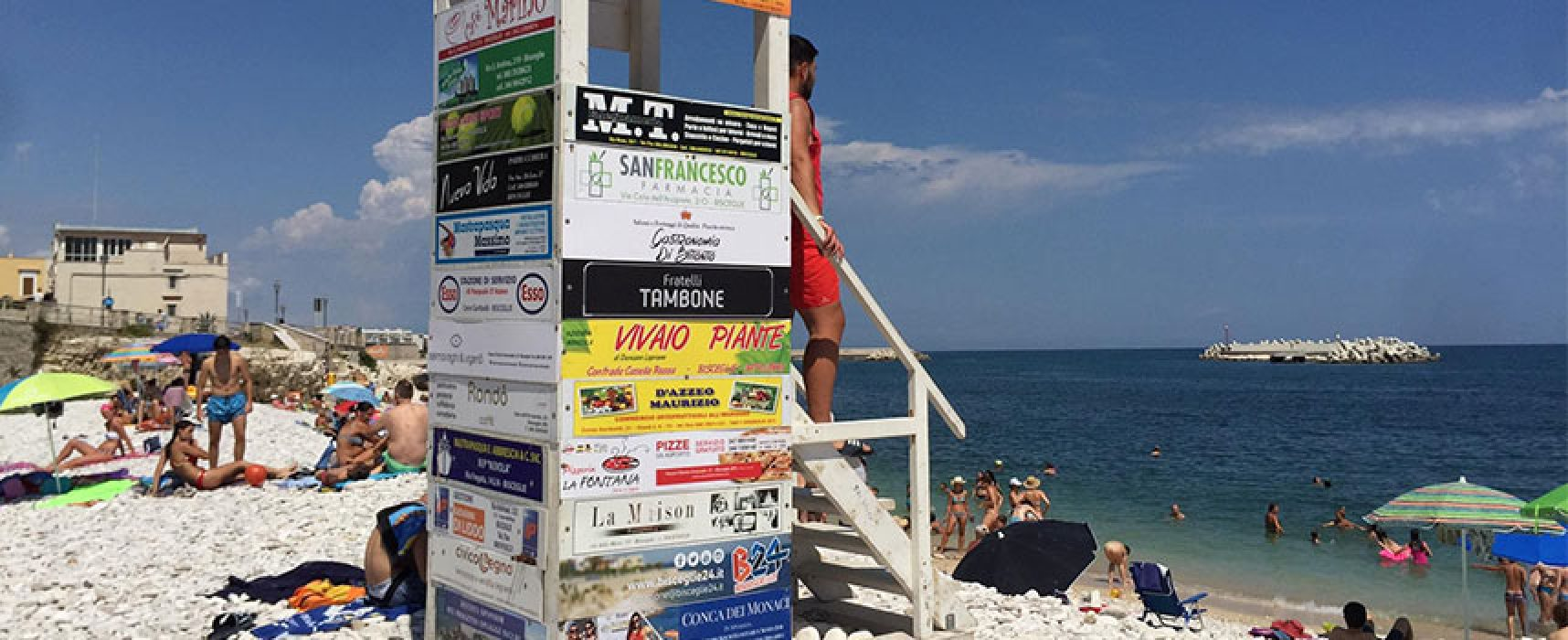 Parte Spiagge Sicure, 40 bagnini biscegliesi in servizio