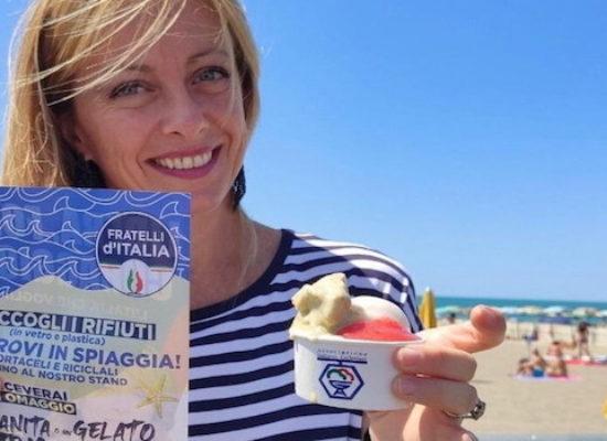 """Fratelli d'Italia a Bisceglie per campagna Spiagge Pulite: """"Un agosto da patrioti"""""""