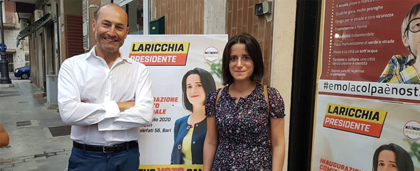 Movimento 5 Stelle in piazza per parlare di referendum ed elezioni regionali