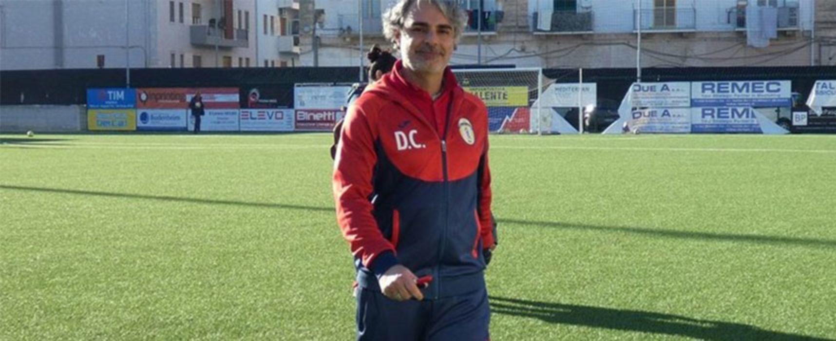 Domenico Capurso confermato alla guida del Don Uva Calcio