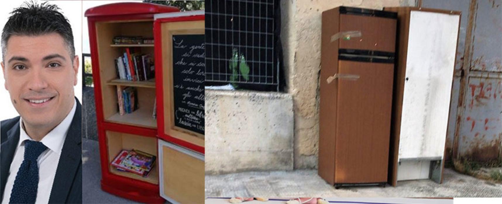 """Di Leo, """"Trasfomare frigorferi abbandonati in librerie,  trarre vantaggio da situazione incresciosa"""""""
