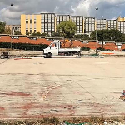 """Avviati lavori al campetto Salnitro, Angarano: """"Impegni presi vengono mantenuti"""" / VIDEO"""