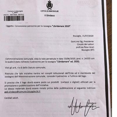 """Acquaviva e Sette: """"Libridamare ha patrocinio Comune, cultura non sia motivo di scontro"""""""