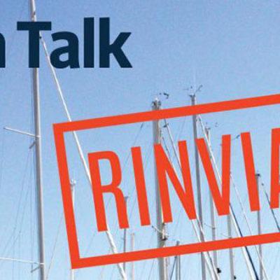 Urban Talk, rinviato l'evento previsto per stasera