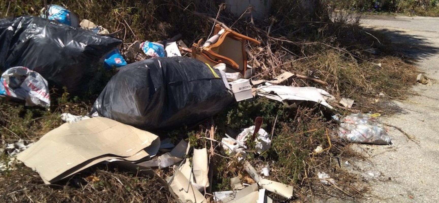 Gruppo Ripalta Area Protetta pubblica imponente documentazione per mappare abbandono rifiuti