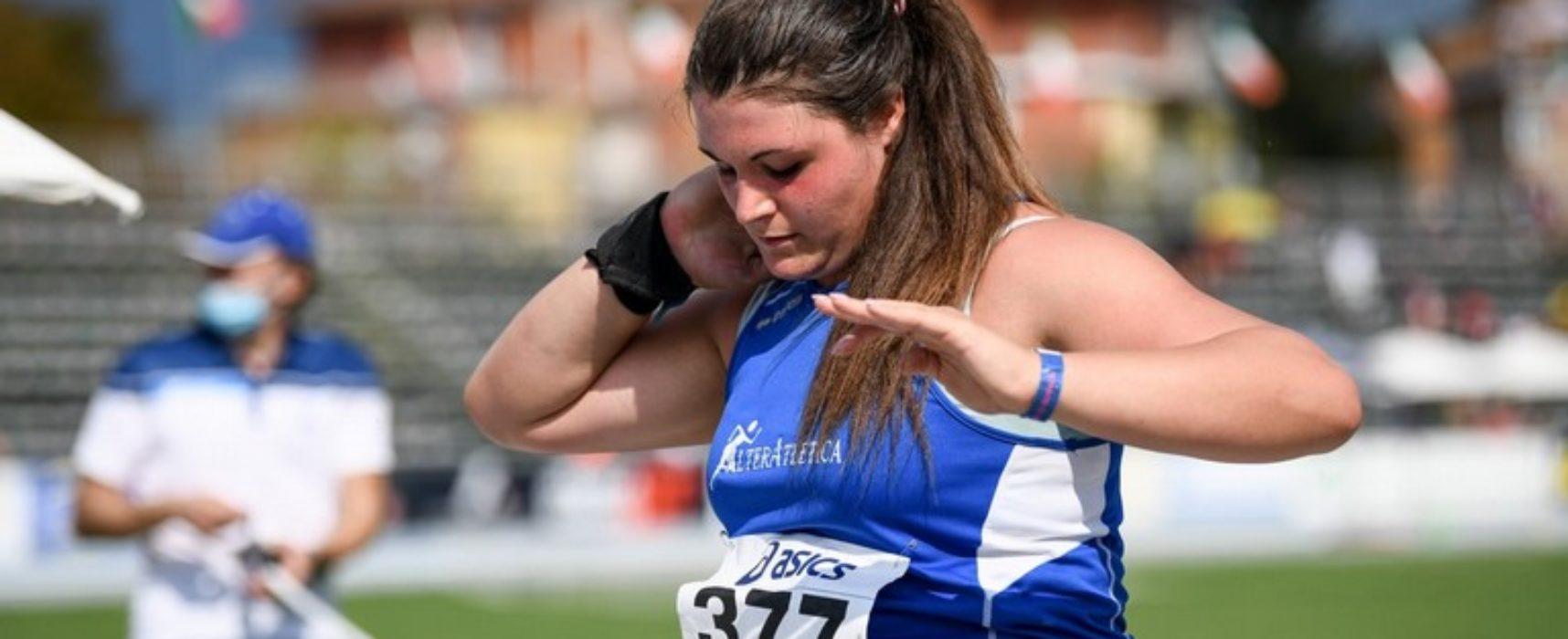 Atletica leggera, record regionale per Anna Musci nel getto del peso