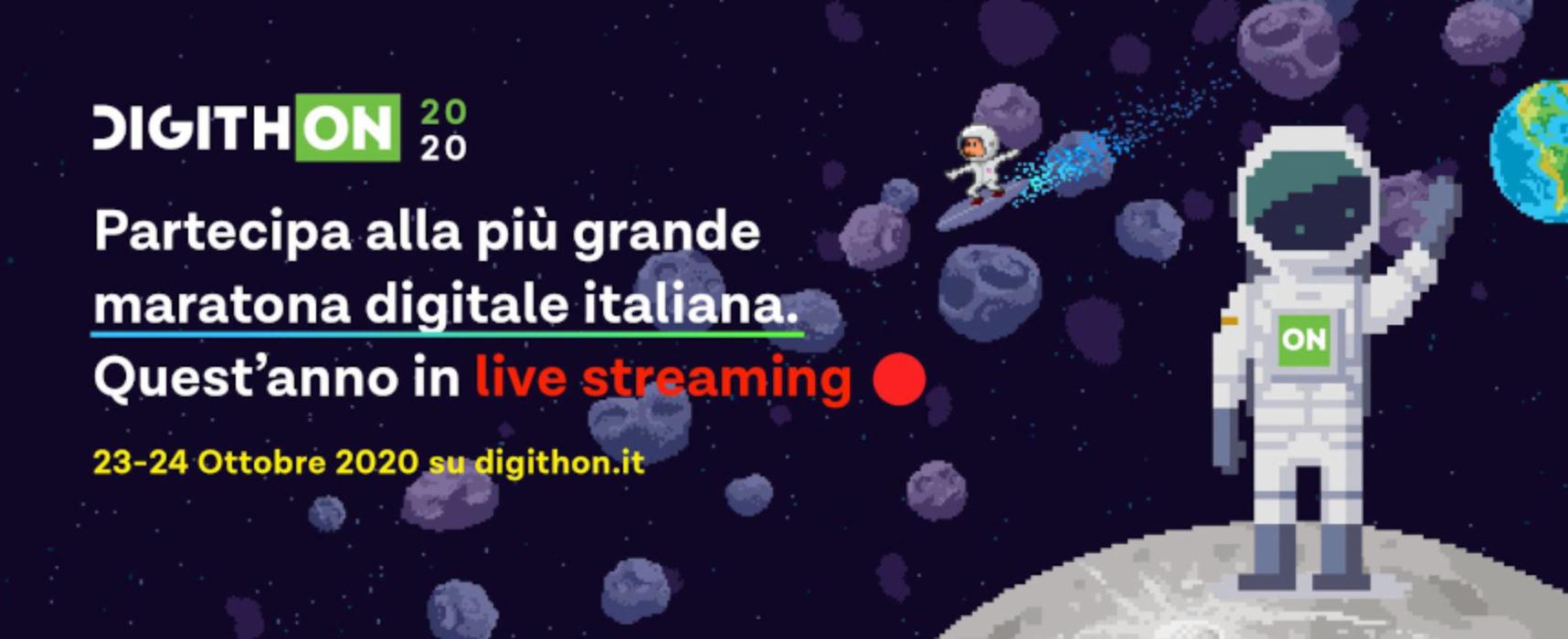 DigithON, la maratona delle idee digitali slitta a ottobre e sarà in live streaming / Aperta la CALL
