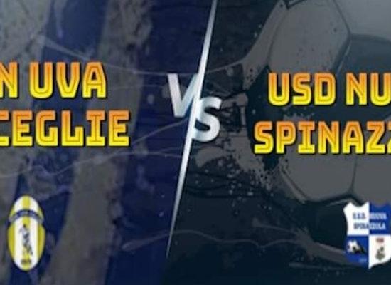 Coppa Italia: Don Uva a caccia del ribaltone contro lo Spinazzola
