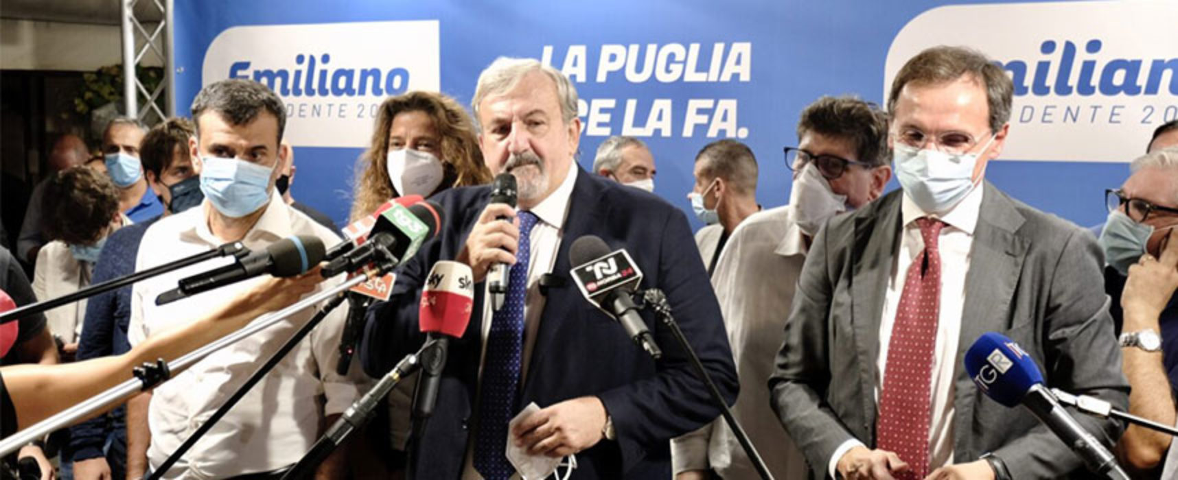 Regionali Puglia 2020: Emiliano si impone nettamente ancha a Bisceglie / Dati definitivi