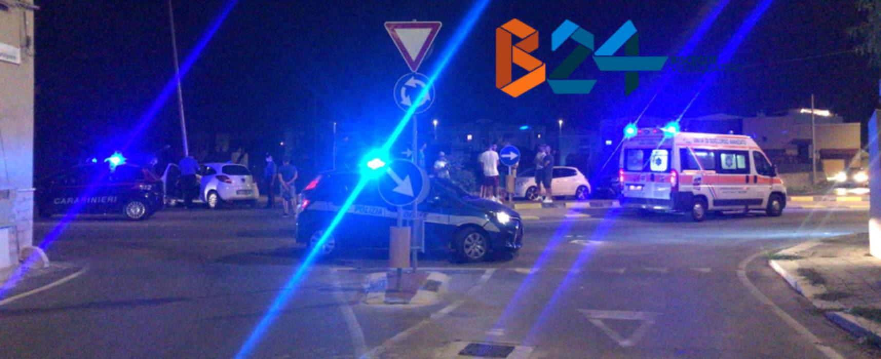 Incidente all'imbocco della Sp 13, feriti 4 calciatori della Fidelis Andria