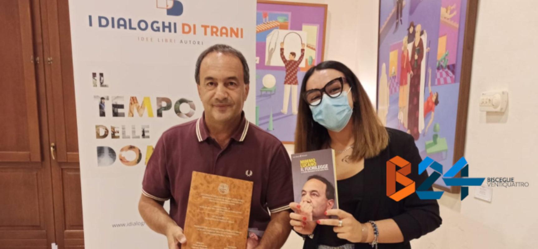 Studentessa biscegliese redige tesi su 'Modello Riace' e la dona a Mimmo Lucano / FOTO