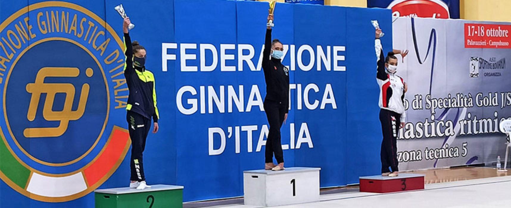 Ginnastica Ritmica, doppio titolo Interregionale per Serena Abbadessa