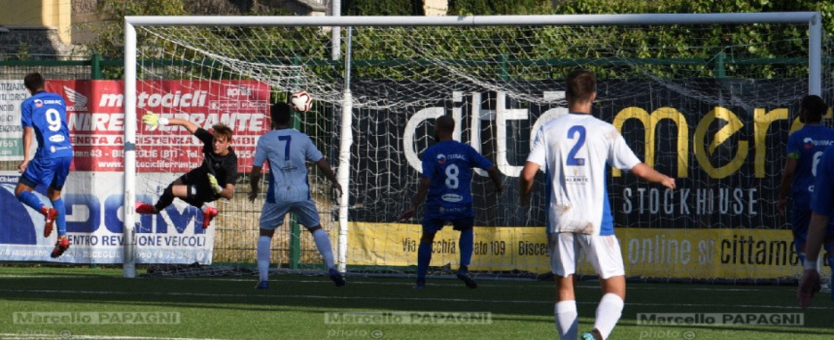 Unione Calcio, Cicerello non basta: ko interno contro il Barletta