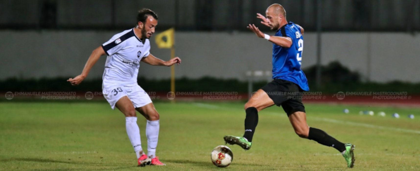 Cavese-gol su rigore, stop per il Bisceglie Calcio