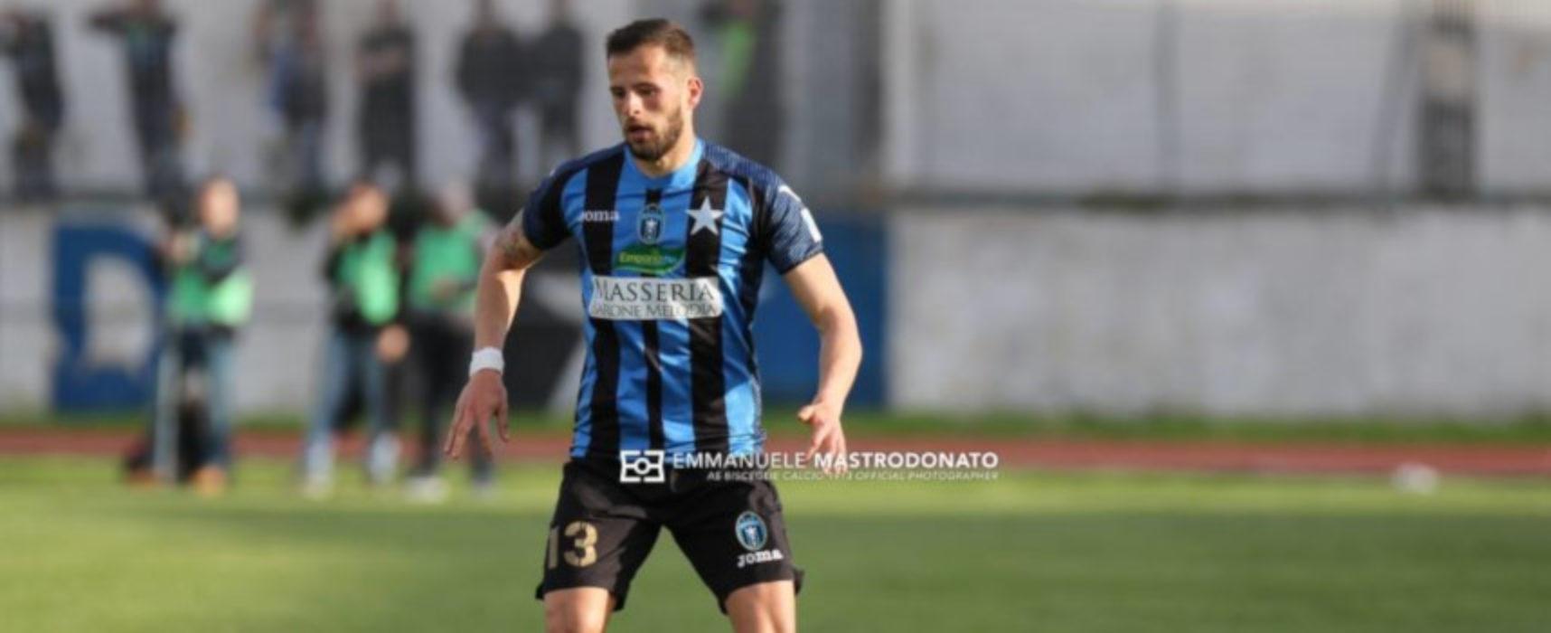 Bisceglie Calcio, c'è il ritorno di Maxime Giron