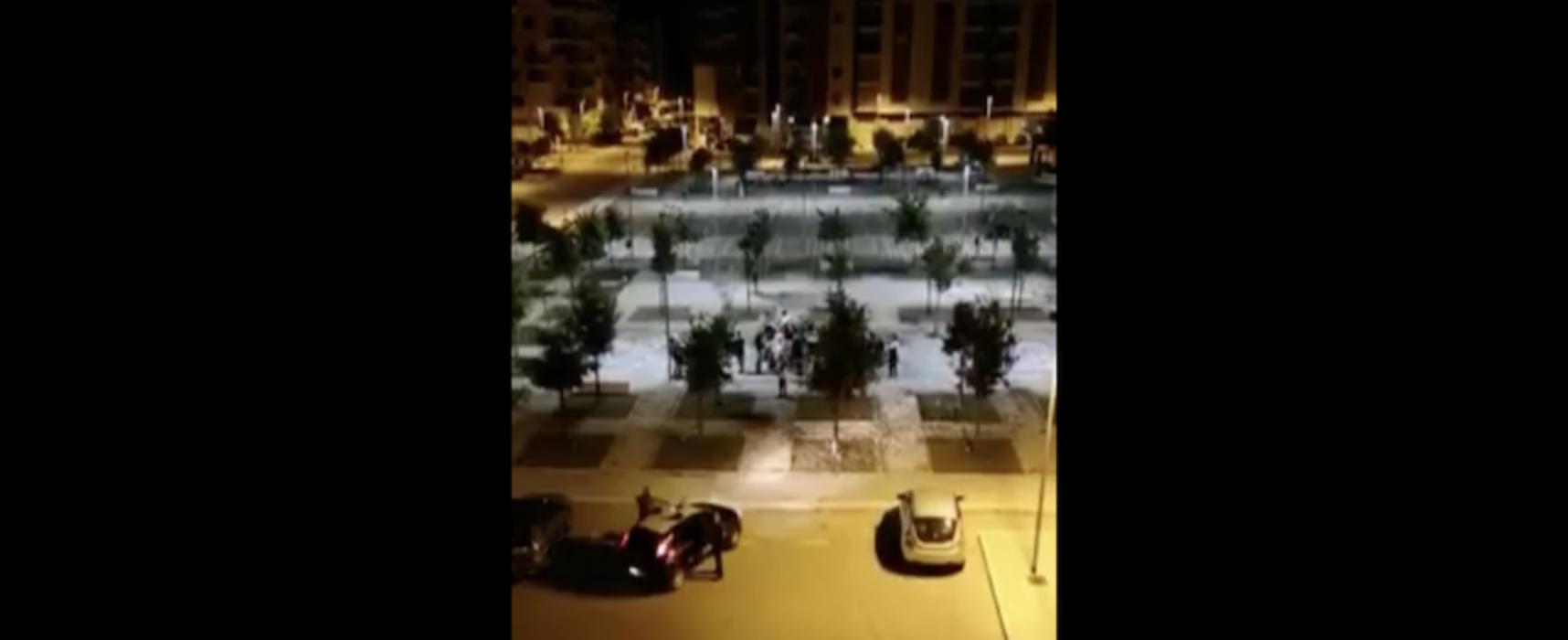 Zona 167: schiamazzi, feste e fuochi d'artificio, intervengono i Carabinieri / VIDEO