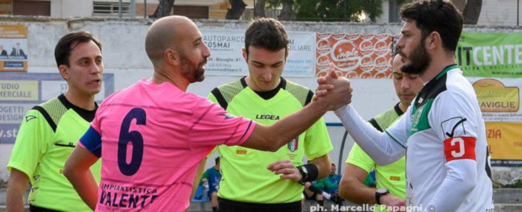 """L'Unione Calcio sfida al """"Di Liddo"""" la corazzata Corato"""