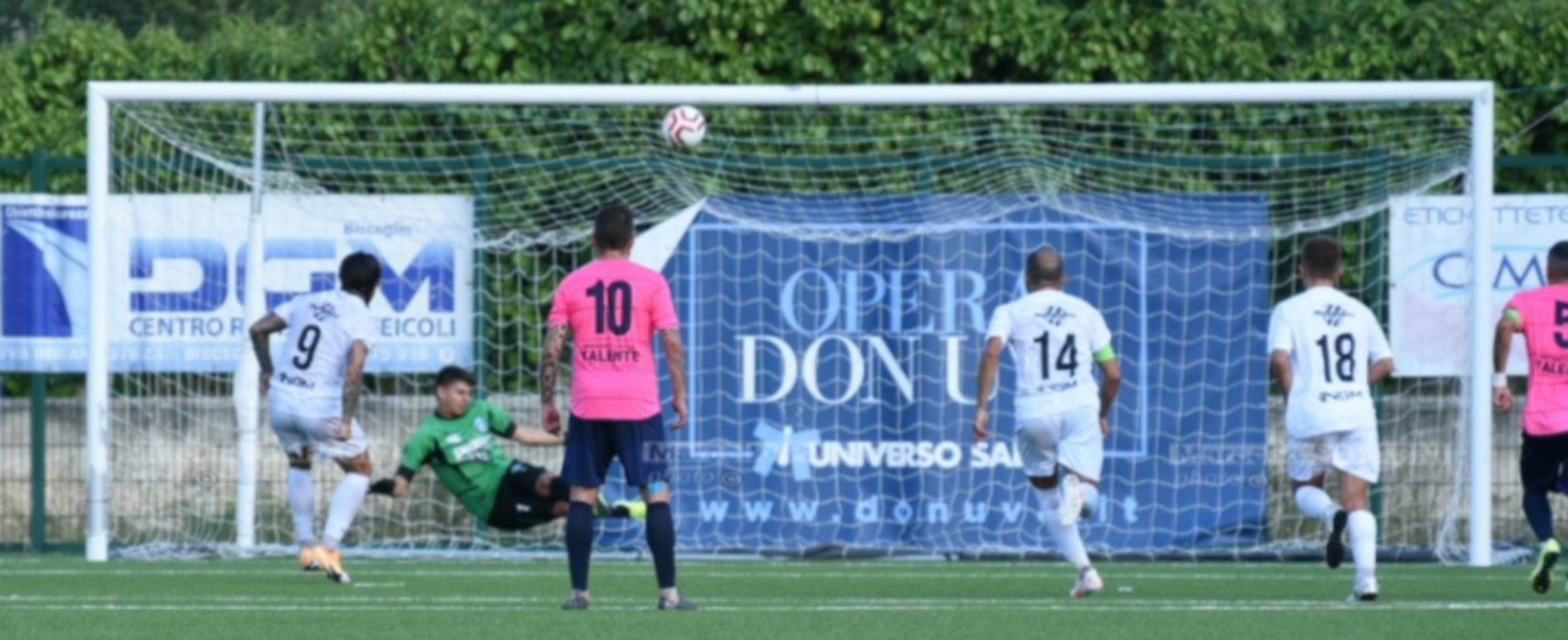 L'Unione Calcio impatta contro il Corato, a segno il baby Petrignani