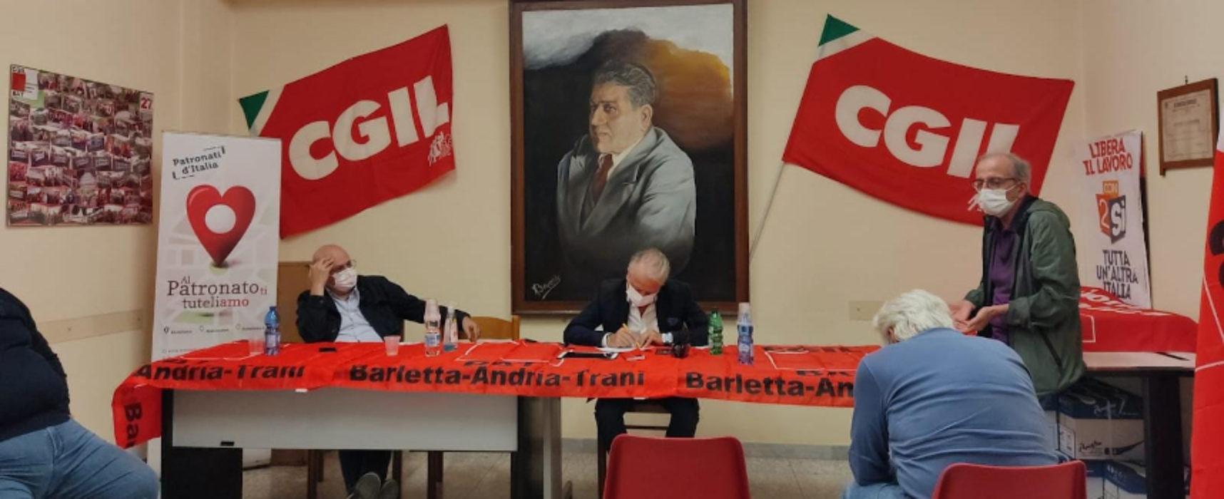 Felice Stolfa è il nuovo coordinatore Camera del Lavoro di Bisceglie