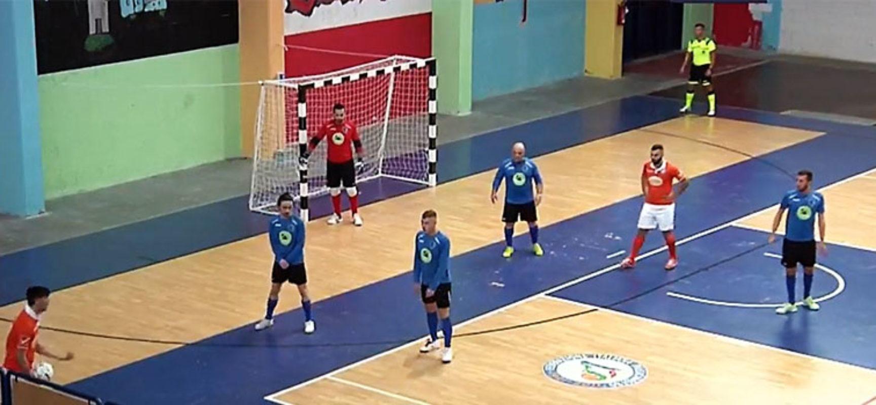 Futbol Cinco oggi di nuovo in campo per il turno infrasettimanale