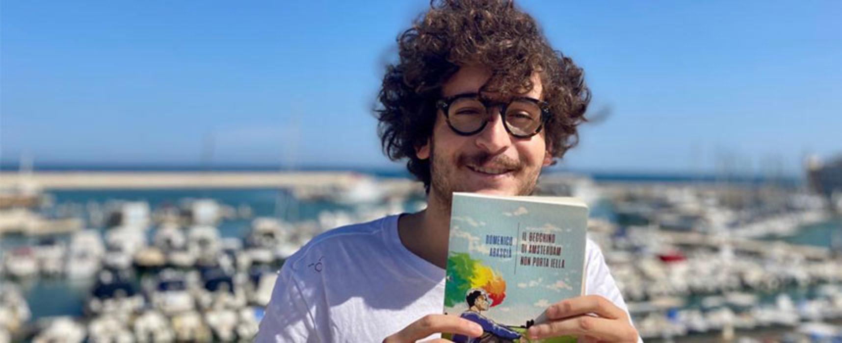 """Il biscegliese Abascià presenta il suo nuovo libro: """"Il becchino di Amsterdam non porta iella"""""""