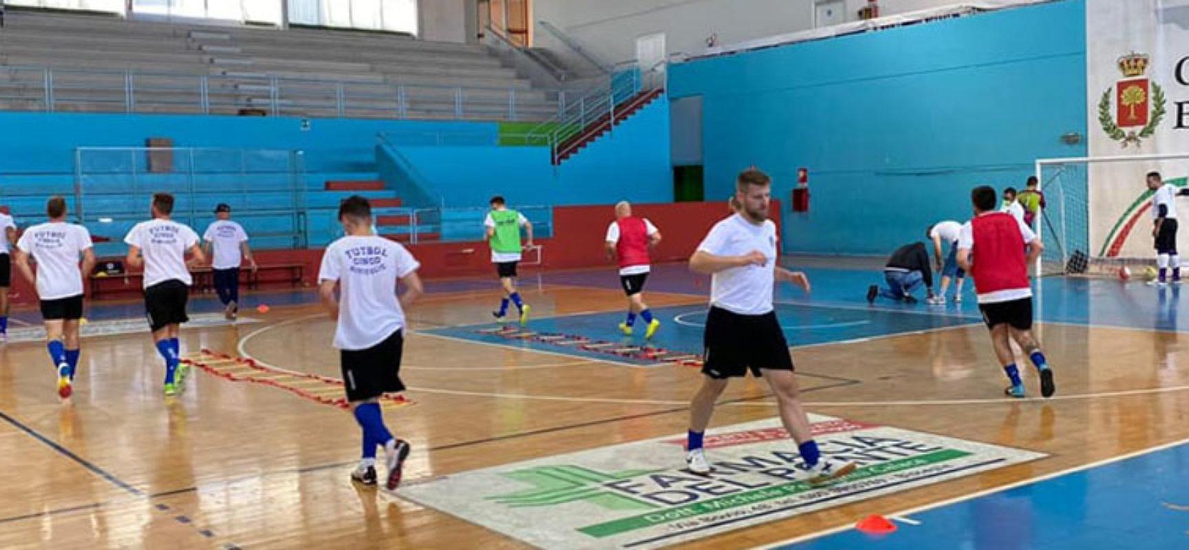 Futbol Cinco, ostico impegno contro la Futsal Andria