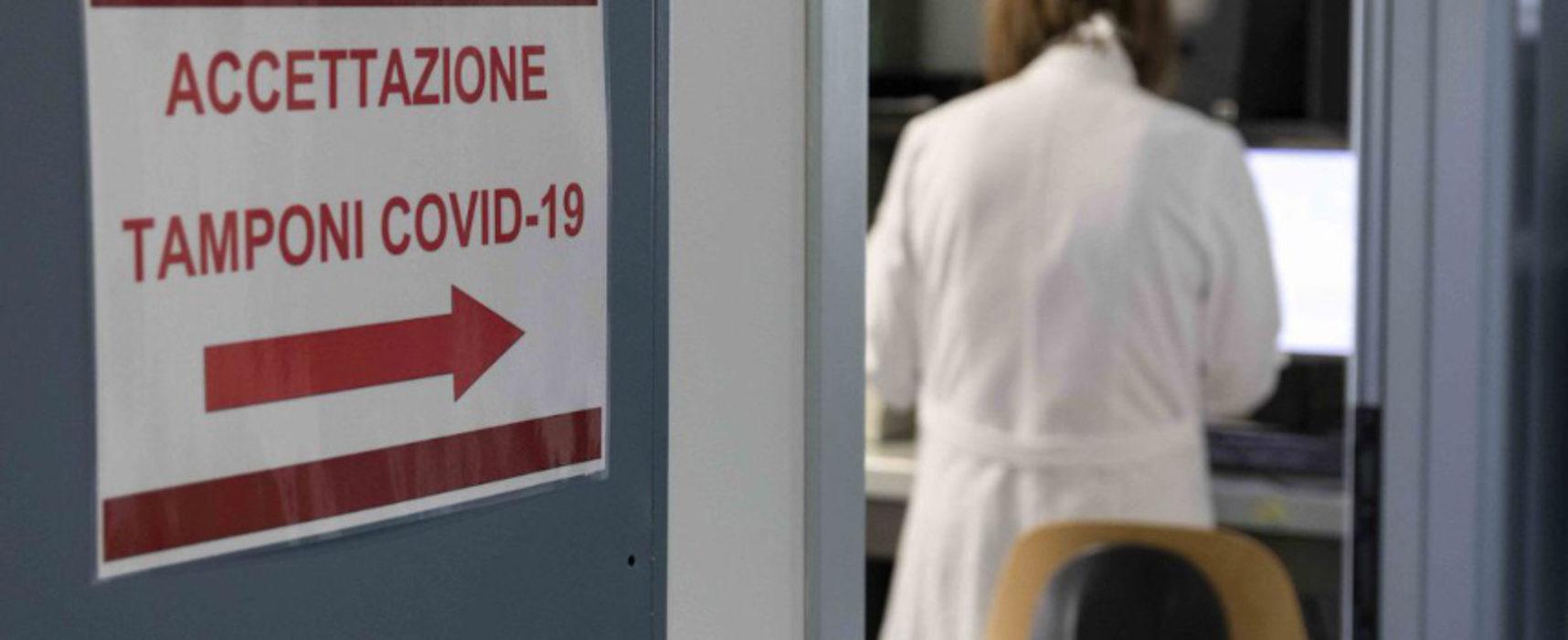 Coronavirus, 324 positivi registrati oggi in Puglia, 38 nella Provincia Bat