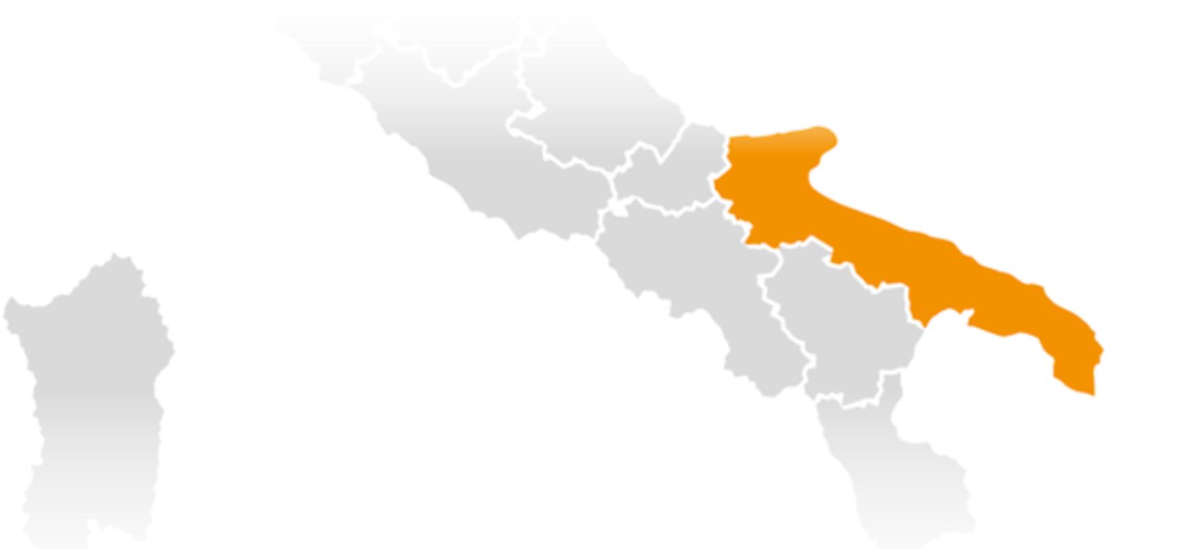 Ministero della Salute: Puglia resta in zona arancione