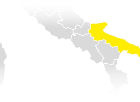 Covid: Puglia rimane gialla, ma situazione peggiora a livello nazionale