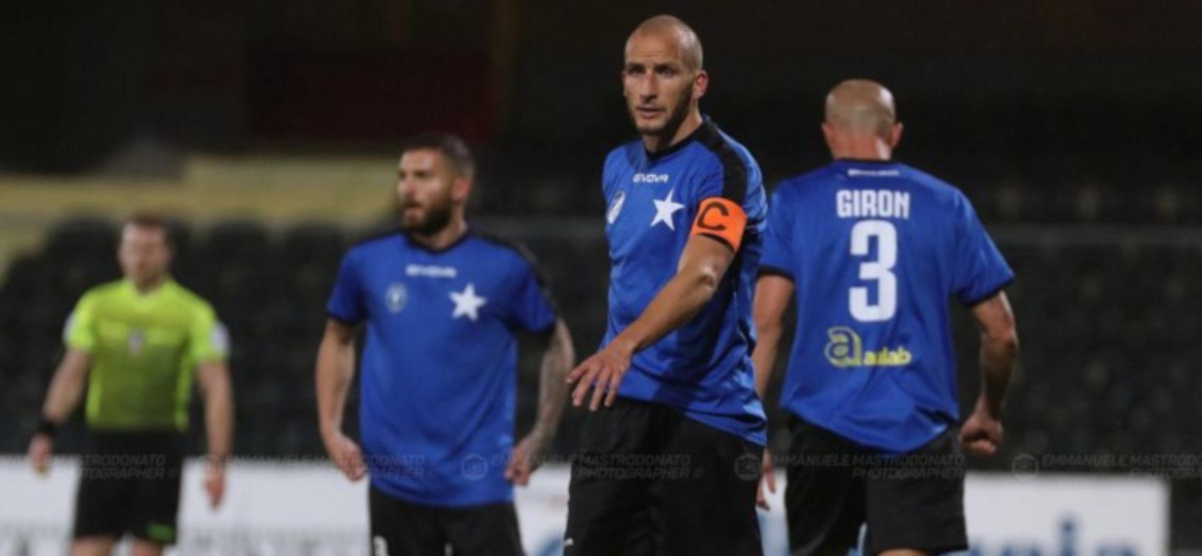 Il Bisceglie Calcio cede al Catania nel recupero della decima giornata