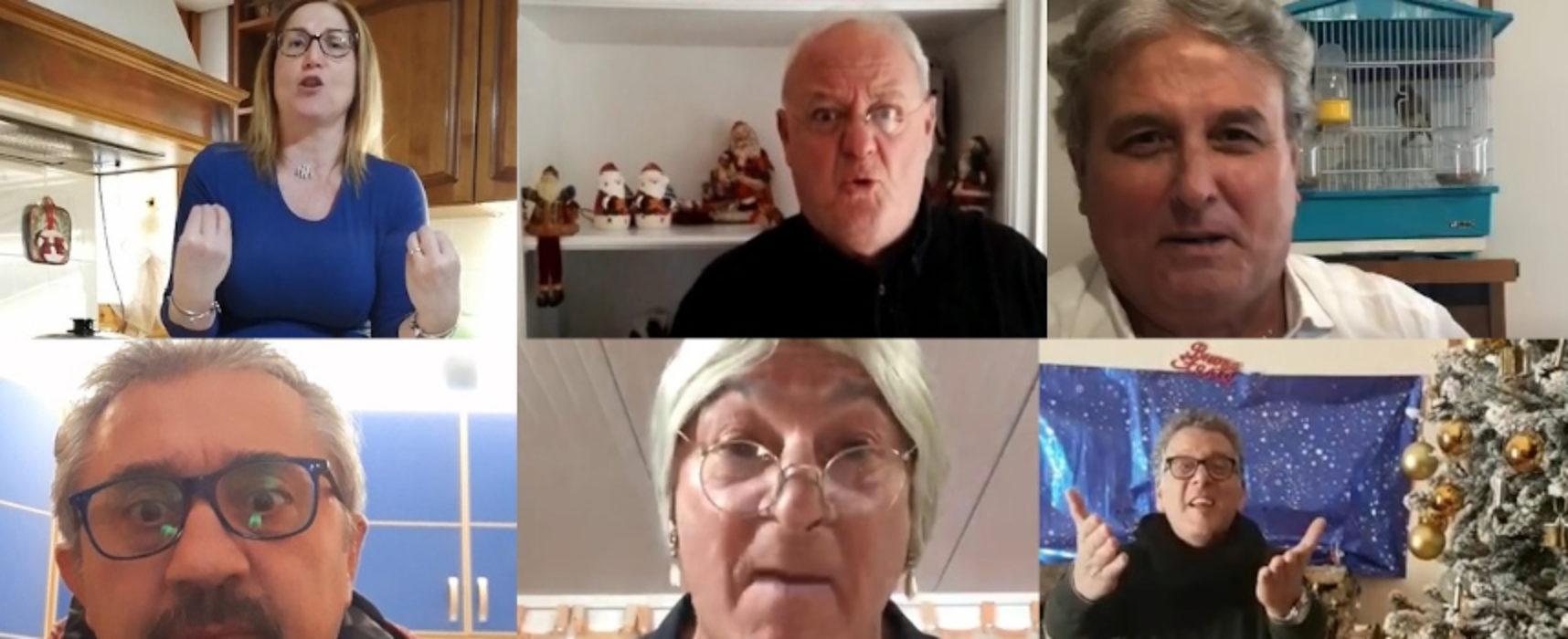 Natale: gli auguri, tra prudenza e speranza, della Compagnia Dialettale Biscegliese / VIDEO