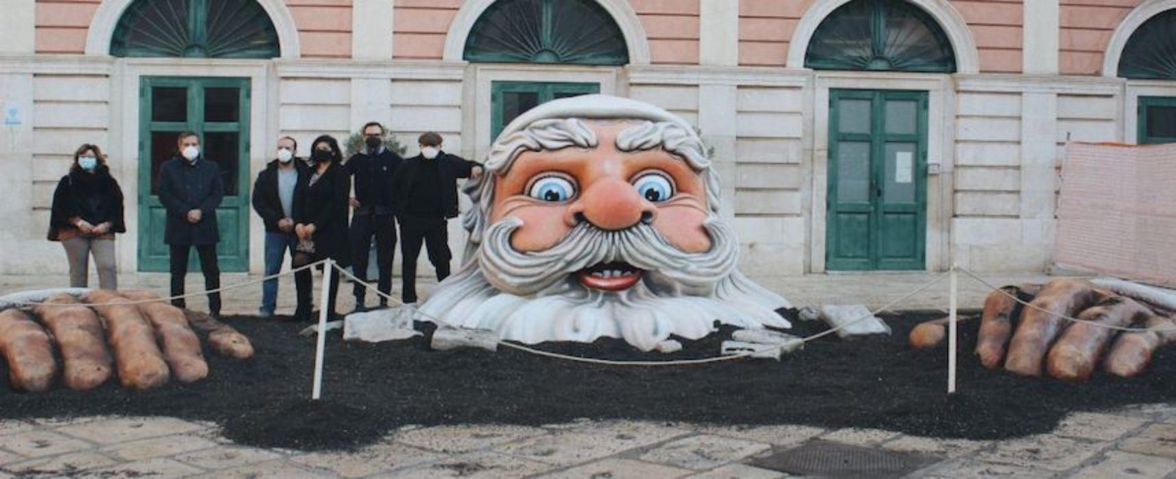 Un Babbo Natale gigante in piazza Regina Margherita: la nuova iniziativa di sistemaGaribaldi