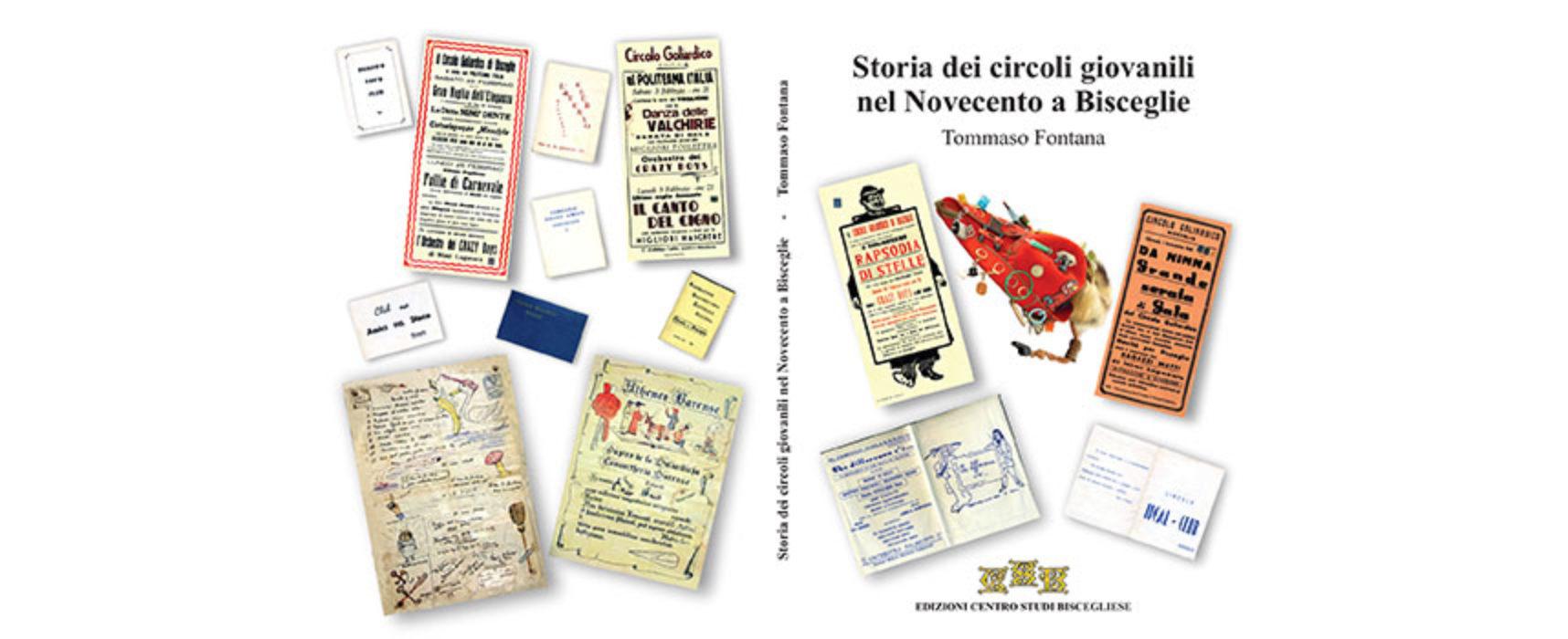 """""""Storia dei Circoli Giovanili a Bisceglie"""", pubblicato l'ultimo studio del dottor Fontana"""