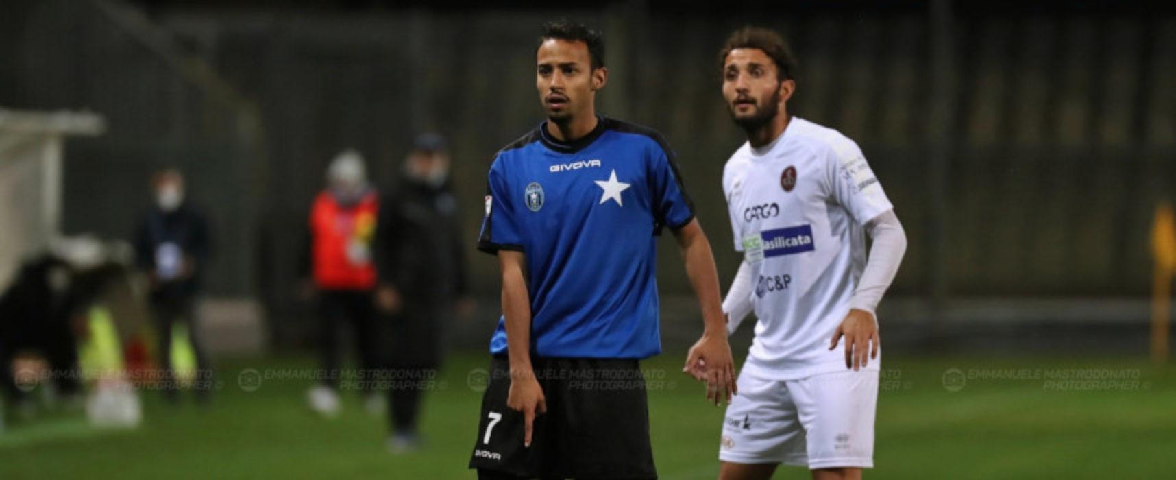 Pari Bisceglie Calcio contro la Vibonese
