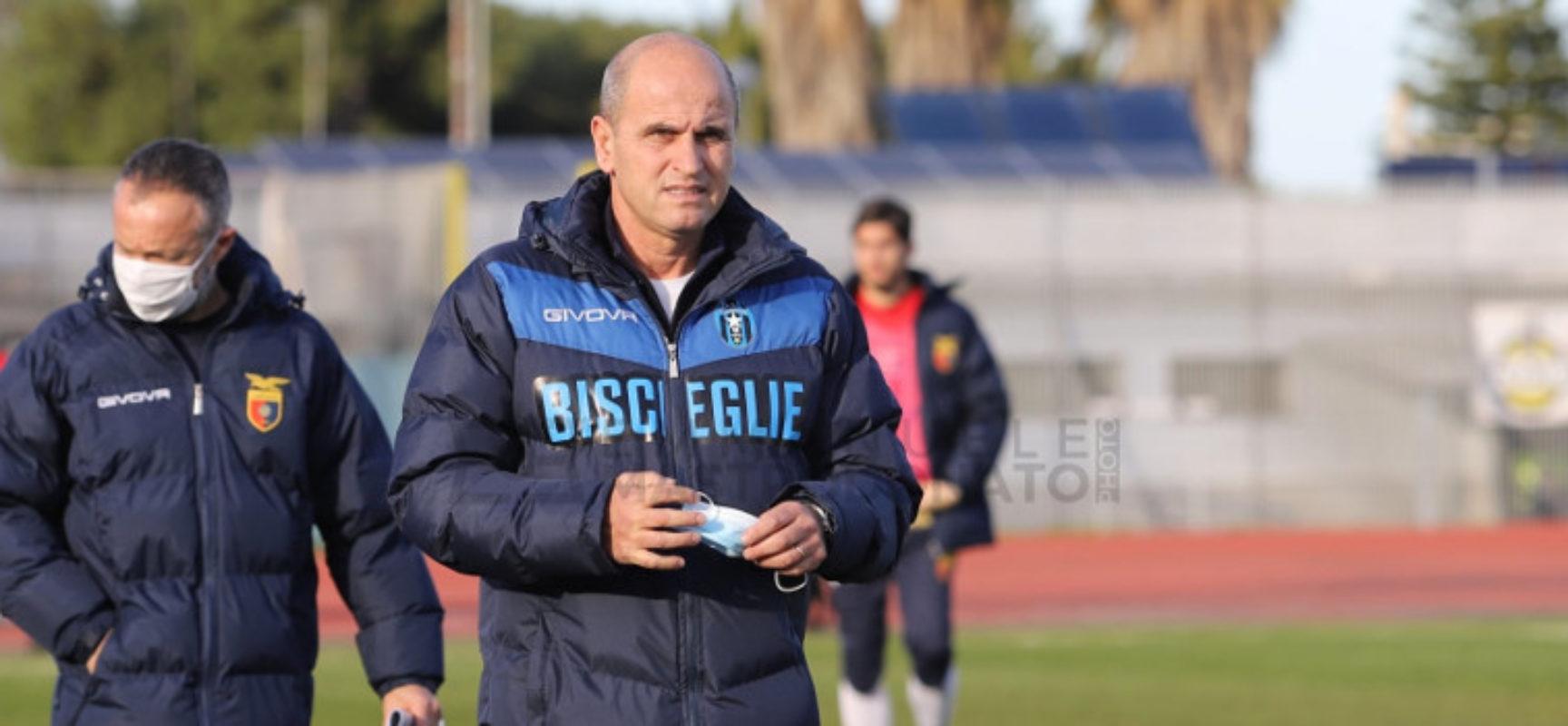 """Bisceglie Calcio, Bucaro nel pre-Foggia:  """"Vogliamo riscattarci e giocare una grande partita"""""""