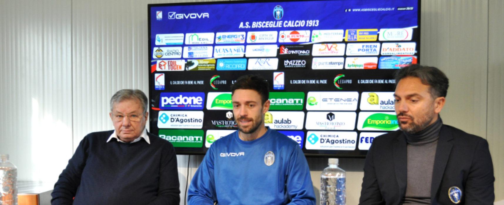 """Bisceglie Calcio, Romizi: """"Tappa di ripartenza dopo un periodo difficile"""""""