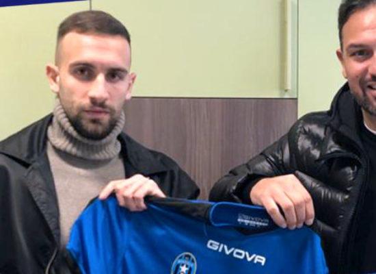 Il terzino Salvatore Tazza nuovo acquisto del Bisceglie Calcio