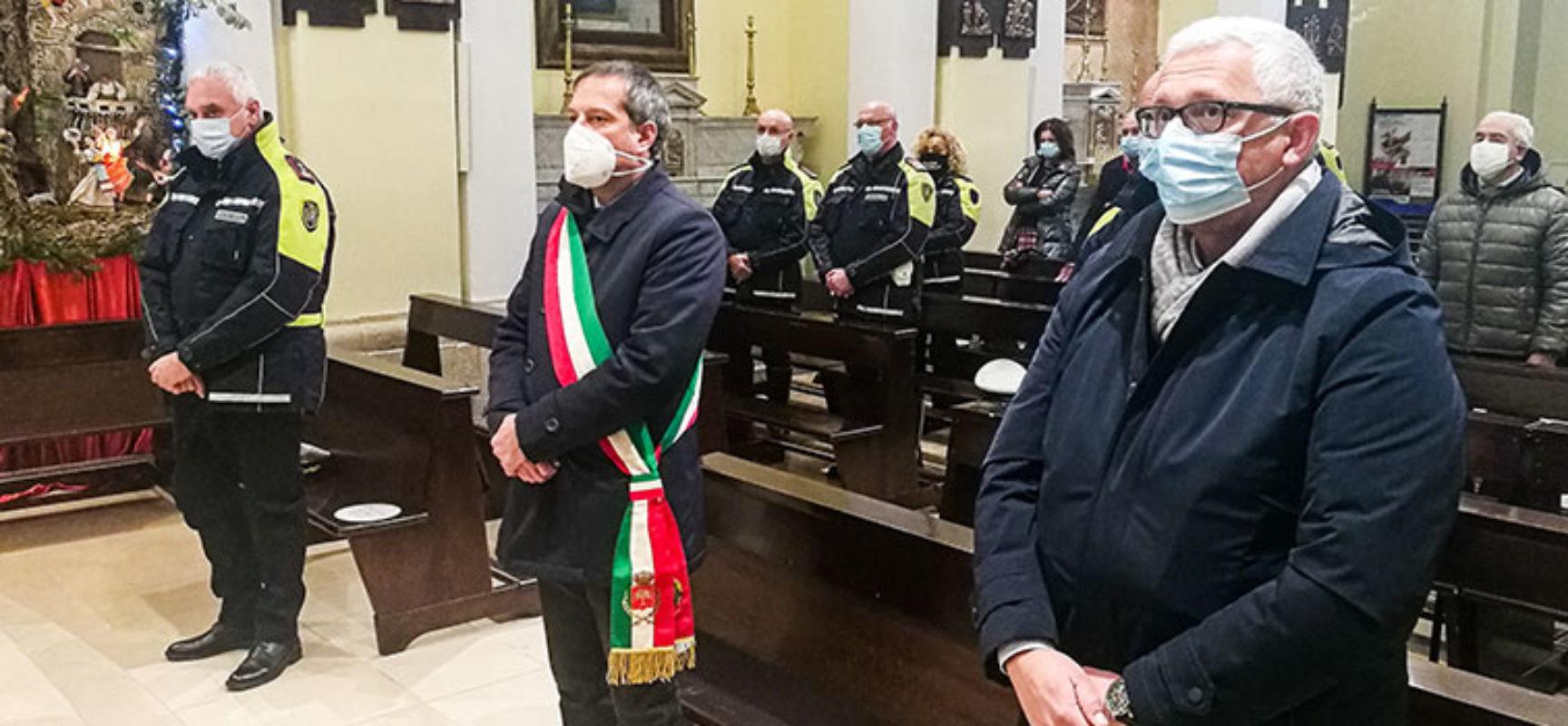 Celebrata messa in onore di san Sebastiano, patrono della Polizia Locale / FOTO