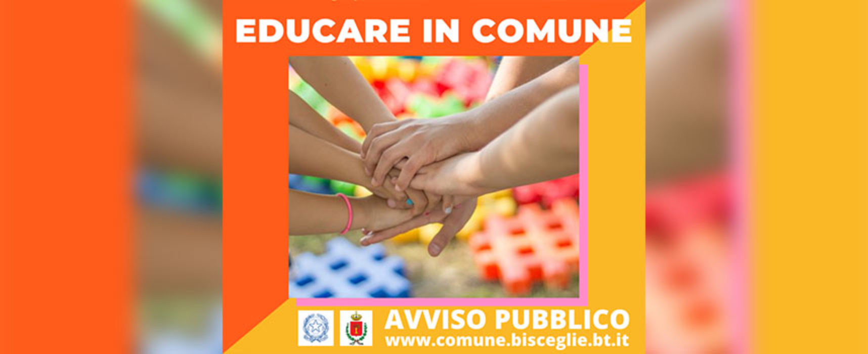 """Bando """"Educare in comune"""" per contrastare povertà educativa ed esclusione sociale"""