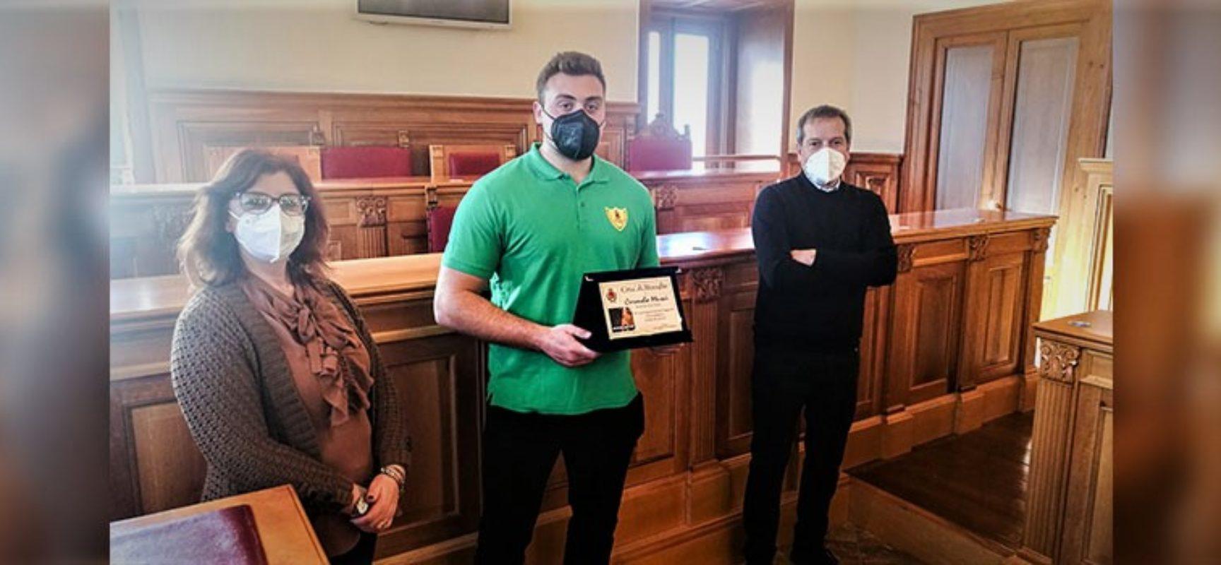 Comune di Bisceglie, riconoscimento per la stagione 2020 di Carmelo Musci