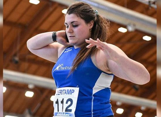 Assoluti Indoor, Anna Musci medaglia d'argento nel getto del peso